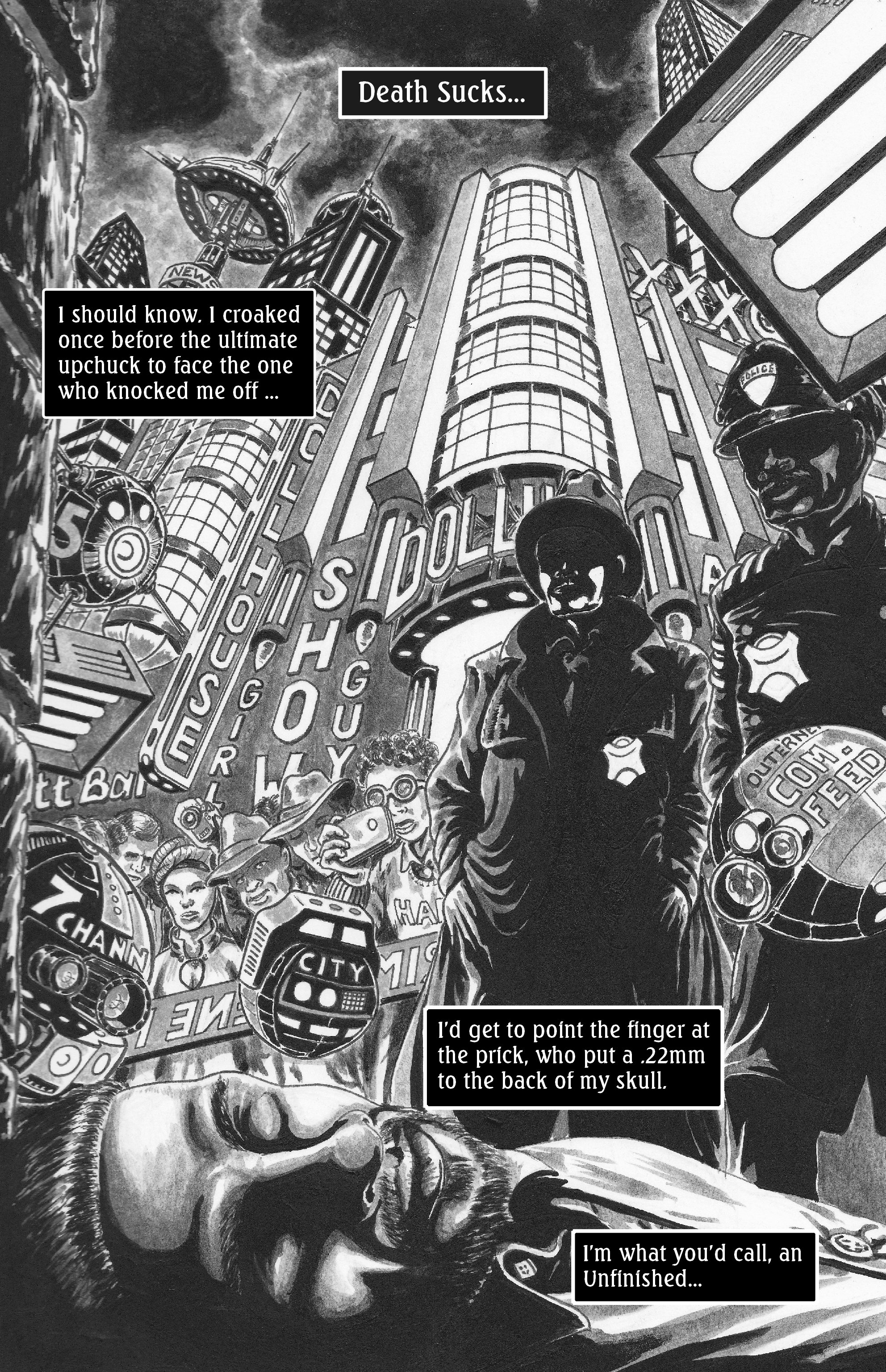 Graphic Novel - The Unfinished, By Patrice Williams Marks